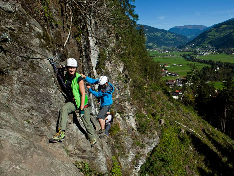 klettersport klettersteig zillertal