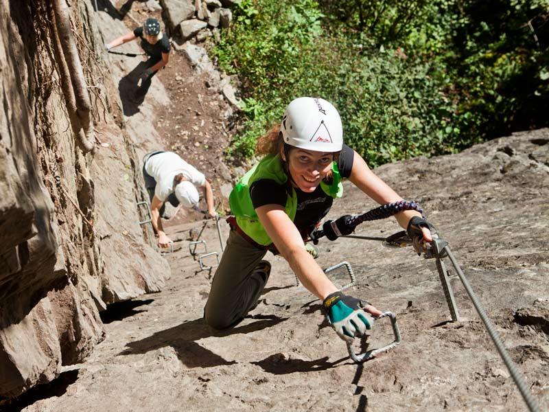 klettersteig klettern bouldern