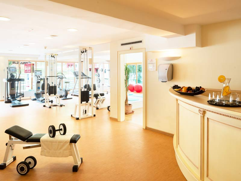 250m² Fitnesscenter