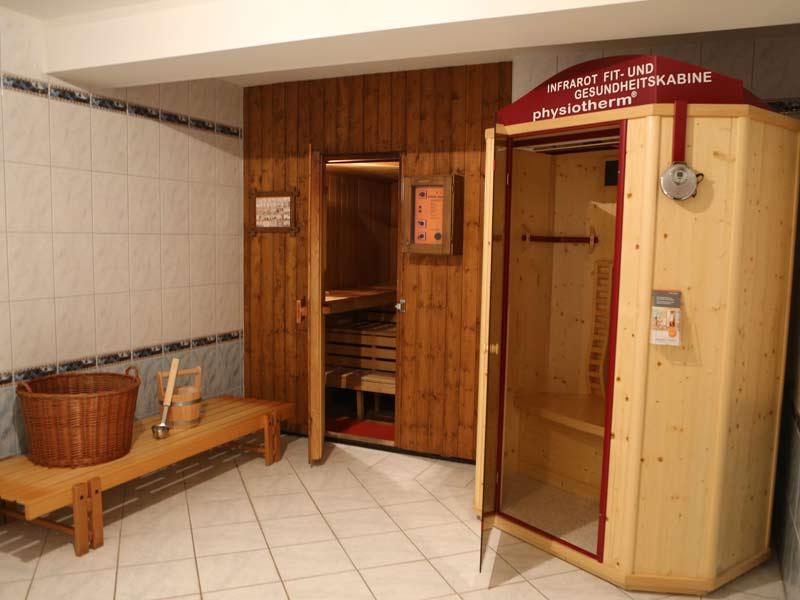 Sauna, Dampfbad und Infrarotkabine